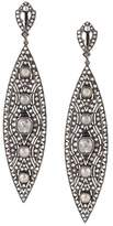 Loree Rodkin diamond tear drop earrings