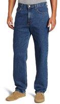 Savane Men's Relaxed Straight-Leg Five-Pocket Jean