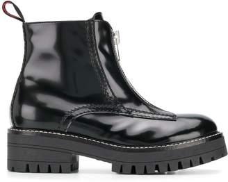 Philosophy di Lorenzo Serafini zipped combat boots