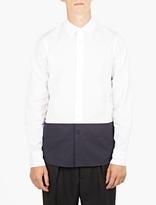 Marni White Contrast Panel Shirt