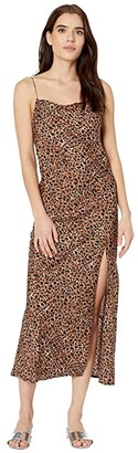 Billabong Love Bias Dress (Animal) Women's Clothing