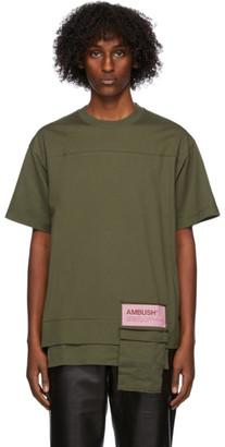 Ambush Khaki New Waist Pocket T-Shirt