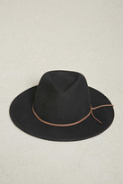 Forever 21 FOREVER 21+ Wide-Brim Wool Fedora