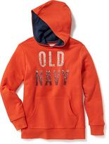 Old Navy Logo Popover Hoodie for Boys
