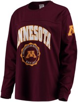 Unbranded Women's Maroon Minnesota Golden Gophers Edith Long Sleeve T-Shirt