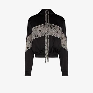 Nahmias Courtside zipped silk jacket
