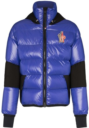 MONCLER GRENOBLE Gollinger logo embroidered jacket