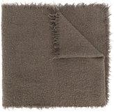 Faliero Sarti raw edge scarf - men - Polyamide/Cashmere/Virgin Wool - One Size