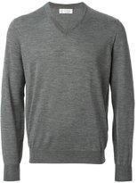 Brunello Cucinelli v-neck sweater - men - Cashmere/Wool - 48