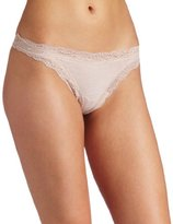 Only Hearts Women's Organic Cotton Thong Panty
