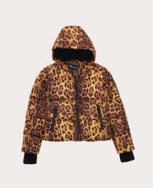 S. Rothschild Big Girls Leopard Print Jacket