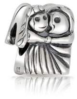Bling Jewelry Sterling Silver Bride Groom Wedding Couple Love Bead Fits Pandora