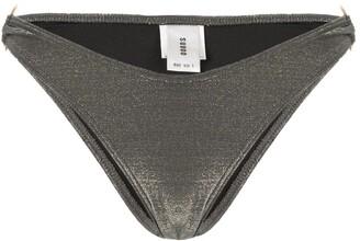 SUBOO Gigi slate metallic ring bottoms