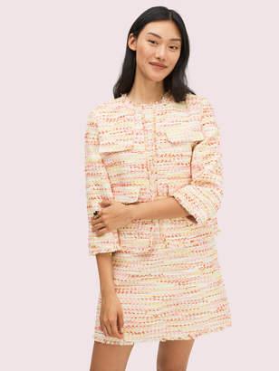 Kate Spade Multi Tweed Jacket