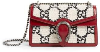Gucci Small Tweed Dionysus Shoulder Bag