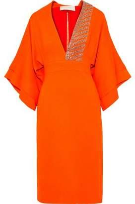 Antonio Berardi Embellished Draped Cady Dress