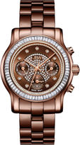 JBW Laurel 0.09 C.T.W Diamond Womens Brown Bracelet Watch-J6330i