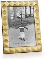 "Monica Rich Kosann Brass Pyramid 8"" x 10"" Picture Frame"