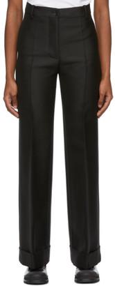 Marni Black Large Cuff Trousers