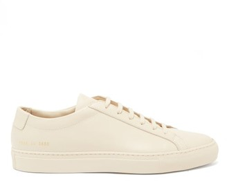 Common Projects Original Achilles Leather Trainers - Mens - Beige
