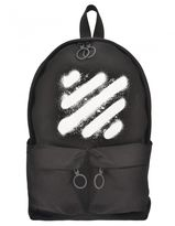 Off-White Cotton Backpack