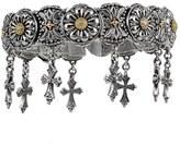 Konstantino Women's 'Penelope' Cross Charm Bracelet