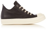 Rick Owens Low-top Leather Trainers