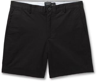 Club Monaco Baxter Slim-Fit Stretch-Cotton Twill Shorts