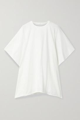 Rick Owens Minerva Cotton-jersey T-shirt - White
