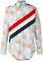 Thom Browne floral print shirt - men - Cotton - 2