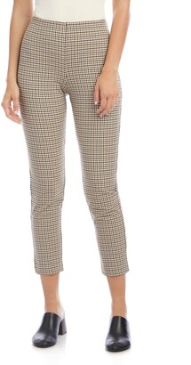 Karen Kane Piper Plaid Ankle Pants