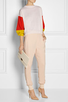 Stella McCartney Color-block cashmere sweater