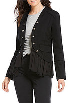 Jolt Military Ruffle Jacket