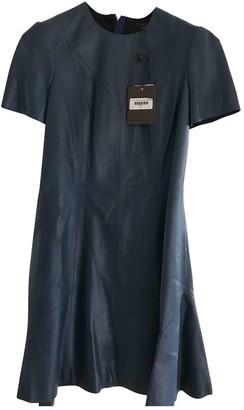 Louis Vuitton Blue Leather Dresses