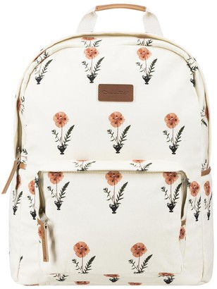 Oscar de la Renta Canvas Backpack