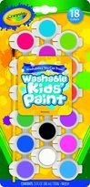 Crayola Washable Kid's Paint Pots
