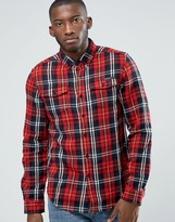 Criminal Damage Lumber Check Shirt