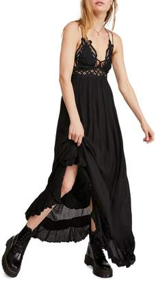 Free People Lace-Trimmed Maxi Dress