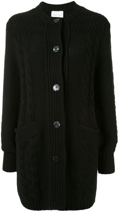 Alice McCall Constance lips embroidered cardigan