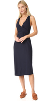 Jenni Kayne Short Sleeve Wrap Tie Dress