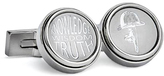 Robert Graham Silvertone 'Knowledge Wisdom Truth' Cuff Links