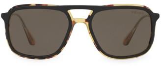 Prada Linea Rossa 57MM Pillow Sunglasses