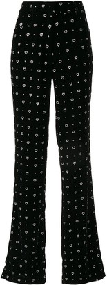 Paul & Joe K Joy heart trousers