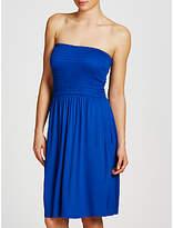 John Lewis Jersey Bandeau Dress, Cobalt