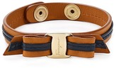 Salvatore Ferragamo Leather Bracelet