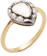 Amrapali Women's 14K Gold & Silver Diamond Ring
