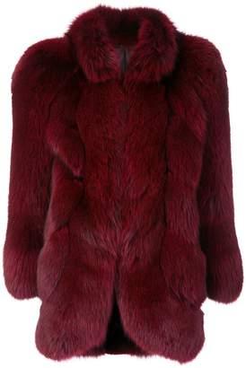 Christian Dior Pre-Owned fox fur coat