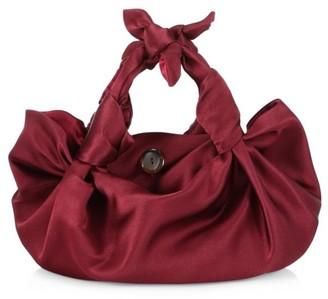 The Row Ascot Two Satin Hobo Bag