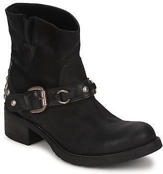 JFK LIPATO women's Mid Boots in Black