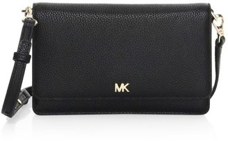 MICHAEL Michael Kors Pebbled Leather Phone Crossbody Bag
